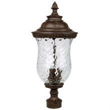 Capital 9785TS   3 Lamp Outdoor Post Lantern